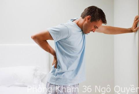 viêm tuyến tiền liệt có triệu chứng gì