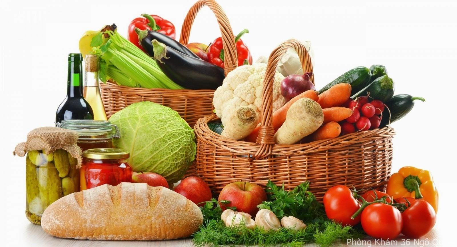 ăn uống thế nào khi bị mắc viêm tuyến tiền liệt